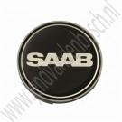 Wielnaafdop, nieuwe type Saablogo, origineel, Saab 9-3v1, 9-3v2 en 9-5 bouwjaren 1998-2014, ond.nr. 2100004