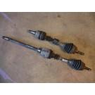 Aandrijfas, rechts, tweedelig, gebruikt, Saab 9-3 versie 1, bouwjaar 1998 tm 2002, org. nr. 5057674  5057120  4399325 30583376