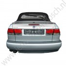 Achterruit, Saab 9-3 versie 1, cabrio bouwjaar 1998-2003, ond.nr. 5184288 5112602