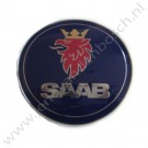 Embleem achterklep, aftermarket, Saab 9-3 versie 1 cabrio, bouwjaar: 2001 tm 2003, ond. nr. 5289897, 4910915