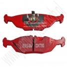 EBC achterremblokkenset Red Stuff, Saab 900 Classic, 9000, bouwjaar 1985 tm 1998, org. nr. 5055967, DP3635C
