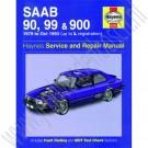 Werkplaatshandboek, Saab 99, 90, 900 Classic, Haynes, bouwjaar 1979-1993