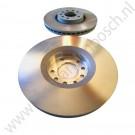 Voorremschijvenset, 16+ inch, origineel, Saab 9-3 Versie 2 org.nr 93186299, 93175606, 428164