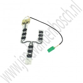 Sensor, gordelwaarschuwing, Origineel, Saab 9-5, 9-3v1, 9-3v2, bj 1998-2012, art.nr. 12760542, 4654984, 12798004
