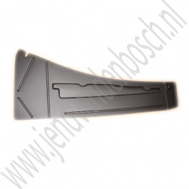 Modificatieplaat boven interieurfilter, Origineel, Saab 9-3v2, bj 2003-2012 ond.nr. 12765989
