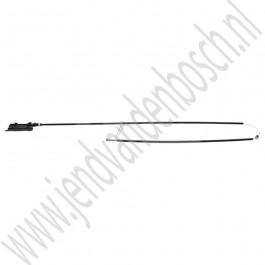 Motorkap kabel, voorste deel, Origineel, Saab 9-3v2, bj 2008-2012, ond.nr. 12782931