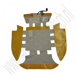 Mat stoelverwarming, origineel, standaard stoel, Saab 9-3 versie 2, bouwjaar 2003 tm 2012, org. nr. 12783123, 12793156, 12793845