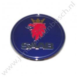 Embleem, origineel, achterklep, Saab 9-5, Estate, bouwjaar: 2006 tm 2010, ond. nr. 12844158 12769688