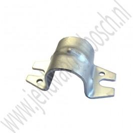 Beugel, stabilisator rubber, vooras, Origineel, Saab 9-5, bj 1998-2010, ond.nr. 13111105, 4687109, 90490614
