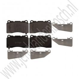 Voorremblokken, 18+ inch, Origineel, Saab 9-5ng, bouwjaar 2010-2012, ond.nr. 13329562, 32021964