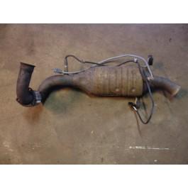 Katalysator, gebruikt, Saab 900NG en 9-3 versie 1 turbo, bouwjaar 1994 tm 2000, org. nr. 4623104, 4962072, 4960191