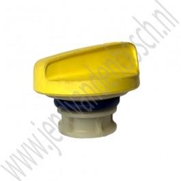 Olie vuldop, Origineel, Saab 9-3v2, 1.8t, 2.0t, 2.0T, B207, bj 2003-2011, ond.nr. 24454629
