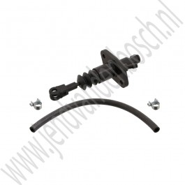 Koppelingscilinder, pedaalzijde, Origineel, Saab 9-5, bouwjaar 2002-2010, org. nr. 5258728, 90490763