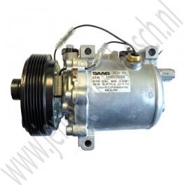Airco compressor, Seiko Seiki, Origineel, Saab 9000, B204,  B234, bj 1990-1998, ond.nr. 4632055, 4071890, 4382743, 4383600