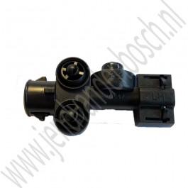 Sproeimond, Xenon koplamp, links, Origineel, Saab 9-5, bj: 2002-2005, ond.nr. 5492897