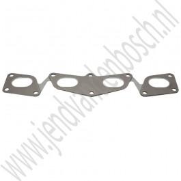 Pakking, Uitlaatspruitstuk, Origineel, 4-cilinder, Saab 900 Classic, 9000, 900NG, 9-3v1, 9-5, ond.nr. 55557285, 9166497, 7518996