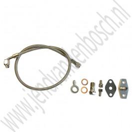 Olie aanvoerleiding turbo, flexibel, Saab 900 Classic, ond.nr. 8859480, 7505878