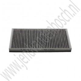 Interieurfilter, carbon, OE-Kwaliteit, Saab 9-3v2, bj 2003-2012, ond. nr. 9179904, 9179905, 93172299, 93172129, 6808601