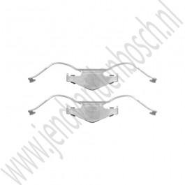 Remveer, Voor, 15'' 285mm, Origineel, Saab 9-3v2, 2003-2005, ond.nr. 93172176, 32072808