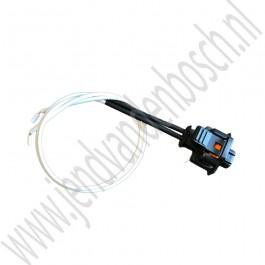 Injector stekker, gemodificeerd, Aftermarket, Saab 9-5, 9-3v2, 1.9 TiD, 1.9 TTiD, bj 2005-2012, org.nr. 93189918