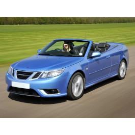 Stootlijst, links achter, origineel, Saab 9-3 versie 2 Cabrio, bouwjaar 2004-2012, ond.nr. 12779887