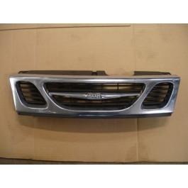 Grille, gebruikt, Saab 9-3 Versie 1 bouwjaar: 1998 tm 2003 ond. nr. 4677894, 32017866, 32017867, 4830071, 32017866