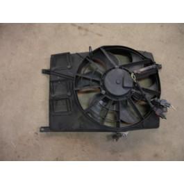 Ventilator voor radiateur, dubbele stekker, gebruikt, Saab 9-3 Versie 1 en 900NG bouwjaar: 1994 tm 2002 ond. nr. 4877015 4237046 4962924