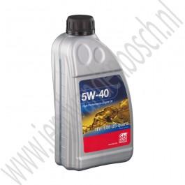 Motorolie, 5W-40, OE-Kwaliteit, 1L, Saab 900NG, 9000, 9-3v1, 9-3v2, 9-5