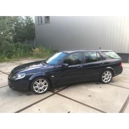 Saab 9-5, Bouwjaar 2007, Sport Estate 2.0 Turbo, 181 000 km, Nocturn blue