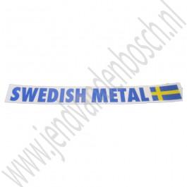Sticker, Swedish Metal