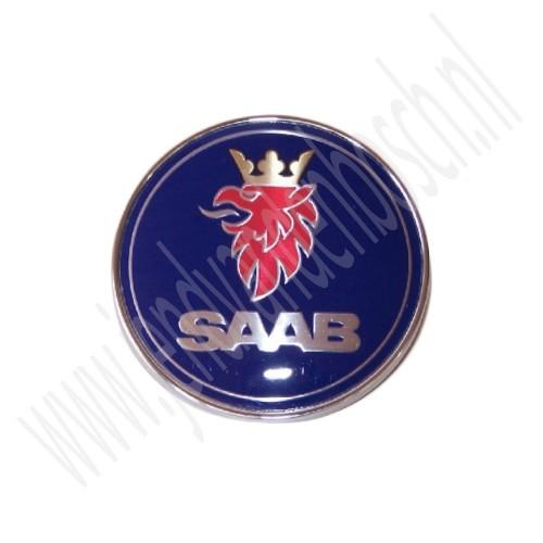 Jd Van Den Bosch Saab 9 3v1 Achterklepembleem Voor Driedeurs En