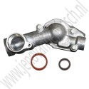 Thermostaat set, Saab 9-3 v2, 9-5NG, 2.8T V6, Origineel, ond.nr. 12638186, 12625923, 12623519, 12588318
