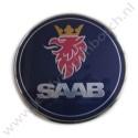 Achterklepembleem, origineel,  Saab 9-3 versie 2 sedan, bouwjaar 2003 tm 2007, ond. nr. 12769690 12785871
