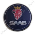 Achterklepembleem, aftermarket,  Saab 9-3 versie 2 sedan, bouwjaar 2003 tm 2007, ond. nr. 12769690 12785871