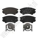 Voorremblokken, 17 inch, 321mm, OE-Kwaliteit, Saab 9-5NG, bj 2010-2012, ond.nr. 13237751, 13237753, 32017996