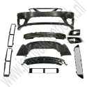 Aero Griffin bumper upgrade set, Origineel, Saab 9-3v2, bj 2008-2012, ond.nr. 32027511, 32027510