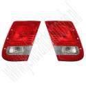 Binnenste achterlicht, gebruikt, Saab 9-3 versie 2 sedan, bouwjaar 2003 tm 2007, org. nr. L: 12785763, 12777311, 12785765, R: 12785764, 12777310, 12785766, 12777309