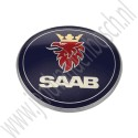 Embleem achterklep, origineel, Saab 9-3v1 cabriolet, bj 2001-2003, ond.nr. 5289897, 4910915