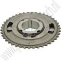 Origineel krukas tandwiel schokdempend voor balansasketting Saabmotor B207 art.nr. 55557168, 12642713, 12789018