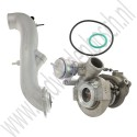 Shortnose turbo upgrade set, TD04-15T en king cobra, Origineel, Saab 9-3v1, 9-5, bj 1998-2010, ond.nr. 55564966, 55560602