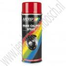 Motip remklauwspray, 400 mL, Rood 04098