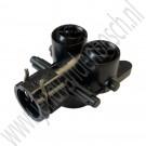 Sproeimond, hogedruk koplampsproeier, links, Origineel, Saab 9-5, bj 2006-2010, ond.nr. 12762221