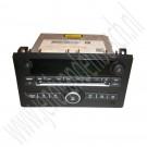 Radio CD-speler, origineel, gebruikt, Saab 9-3 versie 2, bouwjaar 2007 tm 2012, ond. nr. 12774897, 12784117