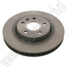 Voorremschijf, 17 inch, 321mm, OE-Kwaliteit, Saab 9-5NG, bj 2010-2012, ond.nr. 13579150, 13502214
