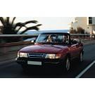Rubber sierstrip, voorruit, Origineel, Saab 900 Classic cabriolet, ond.nr. 6935050