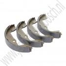 Remschoenset, handrem, OE-Kwaliteit, Saab 900NG, 9-3 Versie 1 en 9-5, bouwjaar 1994 tm 2010, ond. nr. 4836441, 4838660, 32015444, 32019599