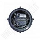 Spiegelmotor met geheugen, gebruikt, Saab 9-3v2, 9-5, bj 1998-2010, ond. nr. 4607628, 5512629, 12767073, 12795595