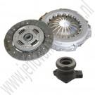 Turbo koppelingset incl hulpcilinder, OE-Kwaliteit, Saab 900NG, 9-3v1, Viercilinder Turbo, bj 1994-2002, ond. nr. 4614012, 5174966, 5337589