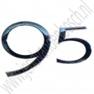 Achterklep 9-5 embleem, Saab 9-5 Estate, bj 1998-2010, ond.nr. 4833463