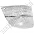 Knipperlichtglas wit, Rechts, Aftermarket, Saab 900 Classic, bj 1979-1986, ond.nr. 8574782